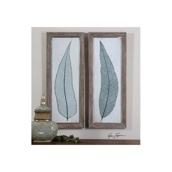 41514 Tall Leaves S/2 by Uttermost-2