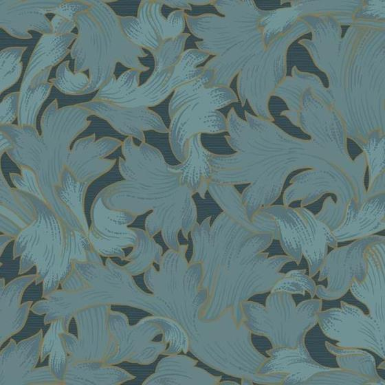 NV5512 Modern Heritage 125th Anniversary Acanthus Toss by York Wallpaper2