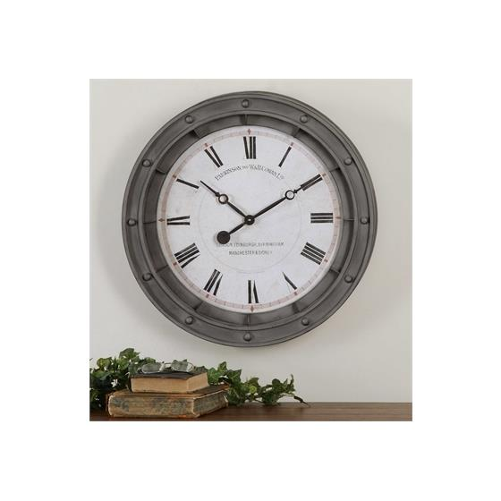 06092 Porthole Clock by Uttermost-2