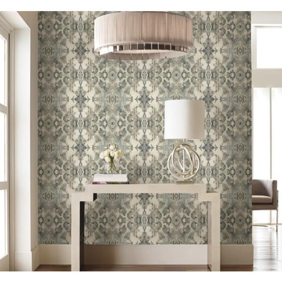 PSW1090RL Simply Candice Abstract Blue Peel and Stick Wallpaper2