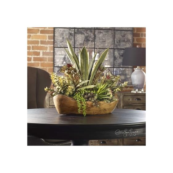 60119 Salar Succulents by Uttermost-2
