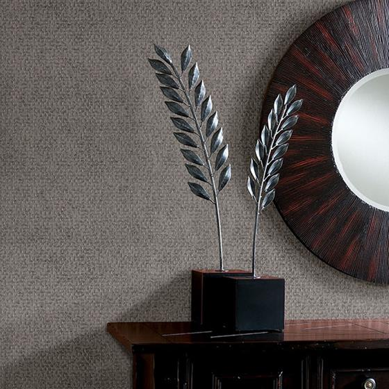 Carbon Pewter Honeycomb Geometric by Brewster Wallpaper