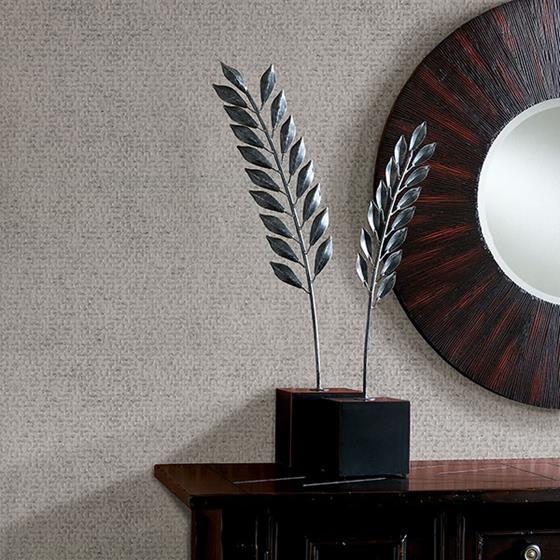 Carbon Silver Honeycomb Geometric by Brewster Wallpaper