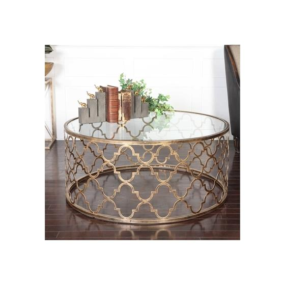 25015 Quatrefoil Coffee Table by Uttermost-2