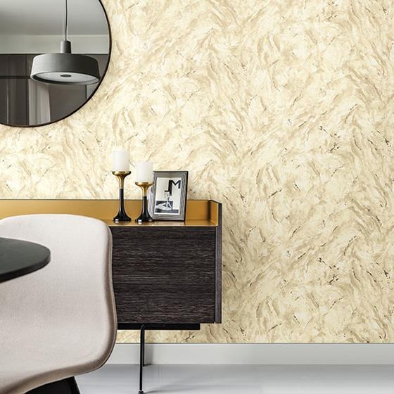 Titania Gold Marble Texture by Brewster Wallpaper