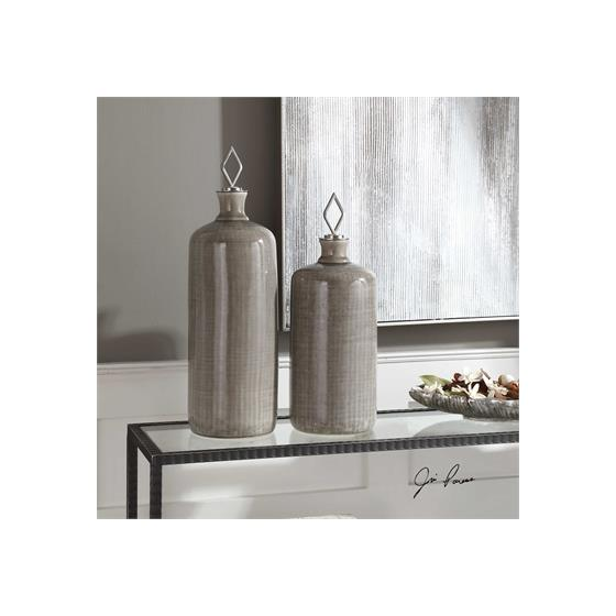 18936 Dhara Bottles S/2 by Uttermost-2
