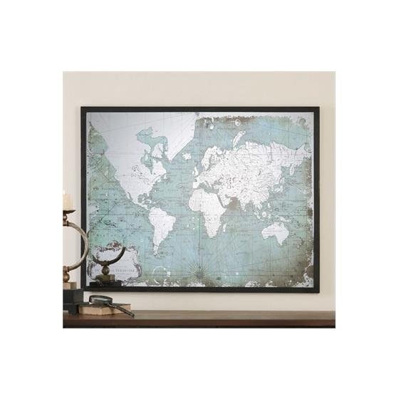 30400 Mirrored World Map by Uttermost-2