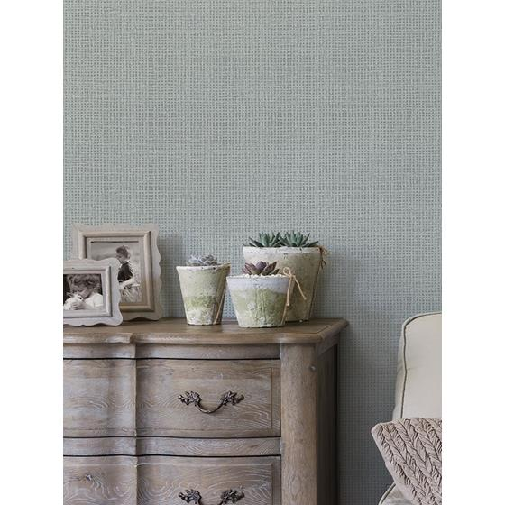 2927-81018 Newport Marblehead Grey Crosshatched Grasscloth by A-Street Prints Wallpaper2