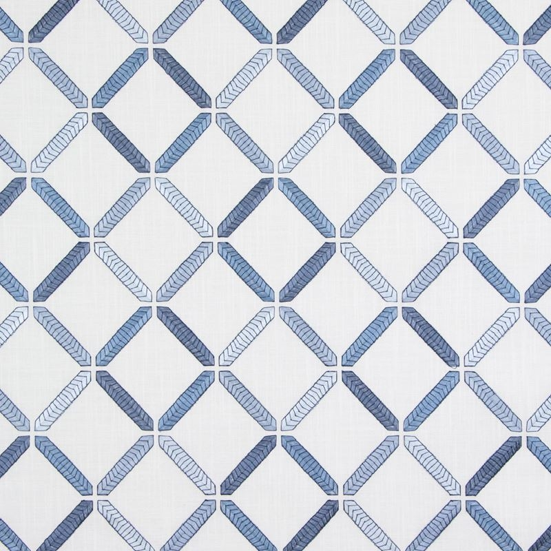 B9304 Marine, Blue Geometric Multipurpose by Green