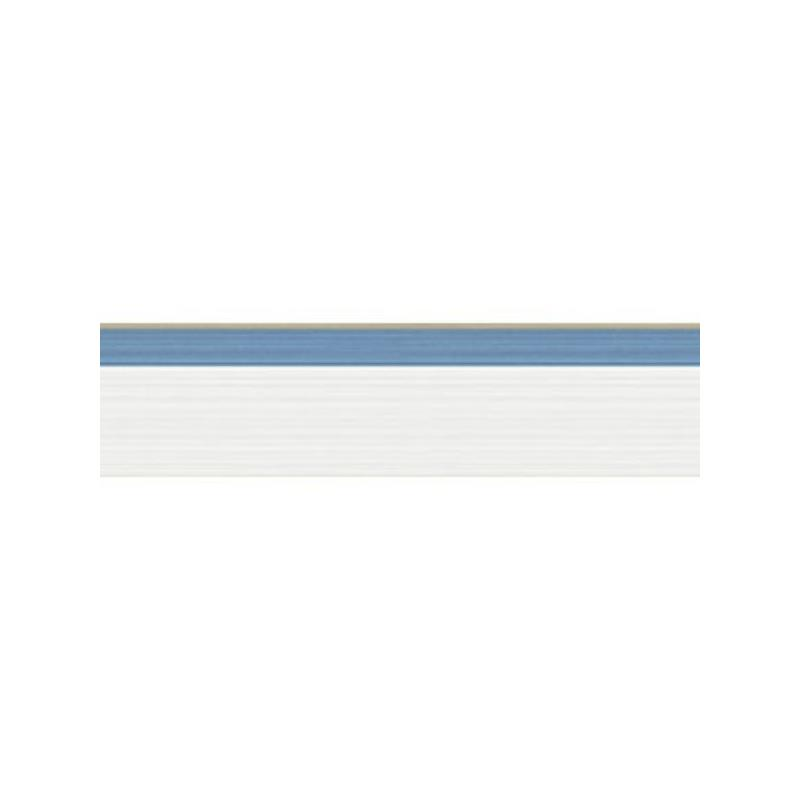 110/10048 Jaspe Border White Blue/Gold by Cole and