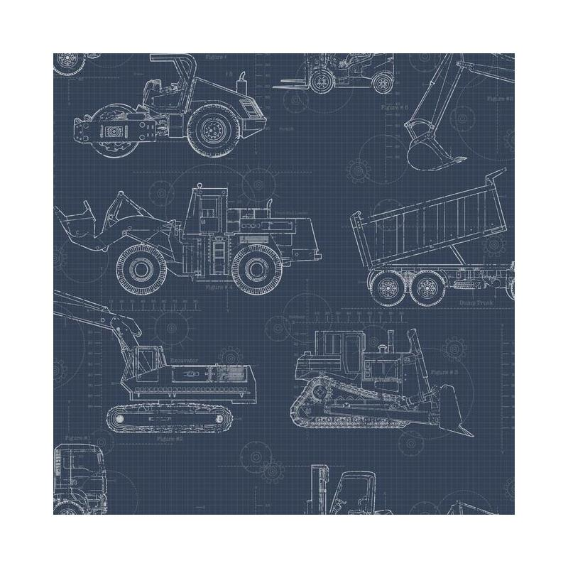 KI0597 A Perfect World, Construction Blueprint, Na
