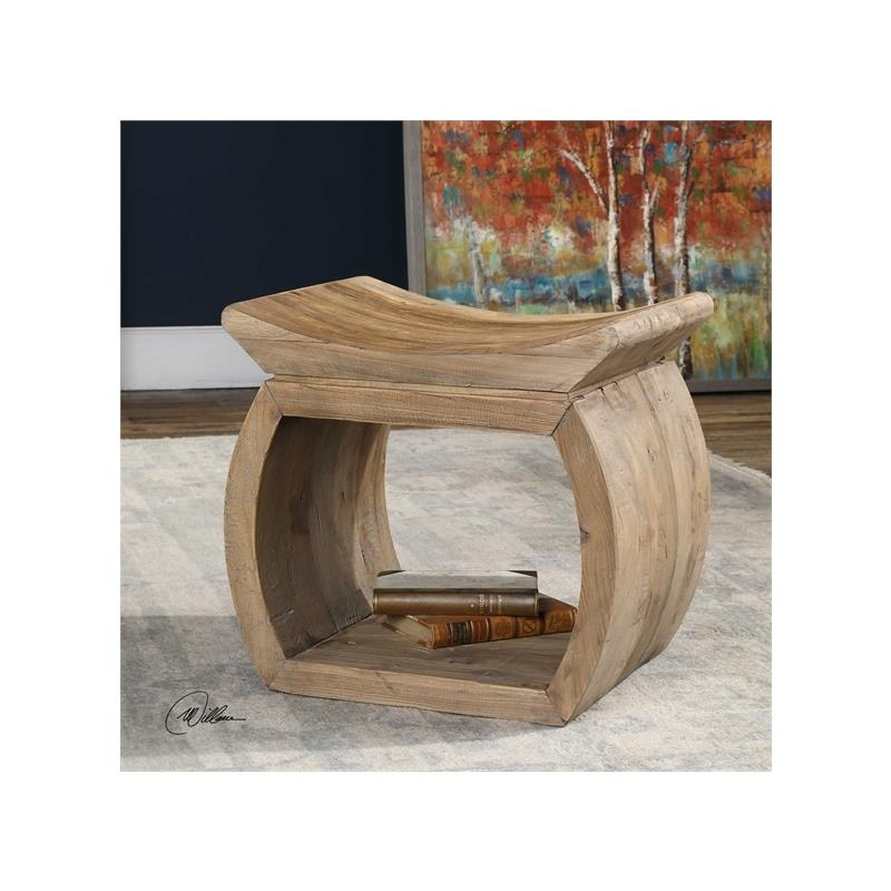 24814 Connor Accent Stool by Uttermost