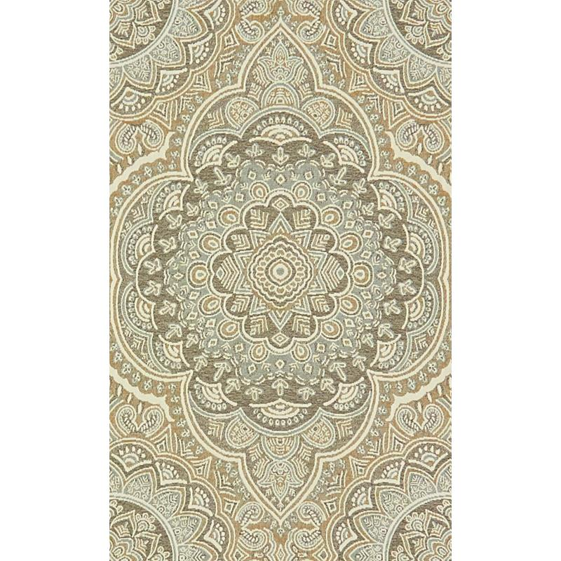 34077.1516.0 Beige Upholstery Damask Fabric by Kra
