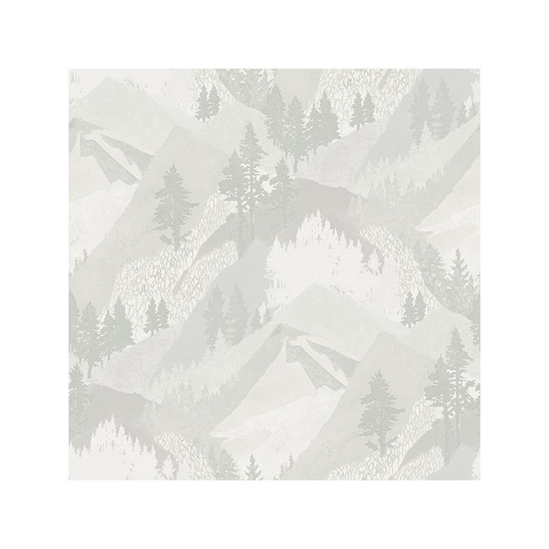 3118-12633 Birch and Sparrow, Range Mountains by C