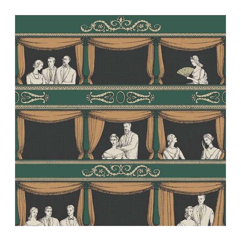 114-4009 Teatro, Racing Car Green Print by Cole an