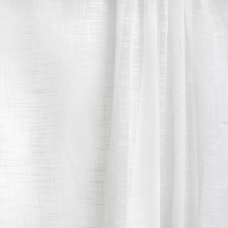 B7940 Eggshell, White Solid Drapery by Greenhouse