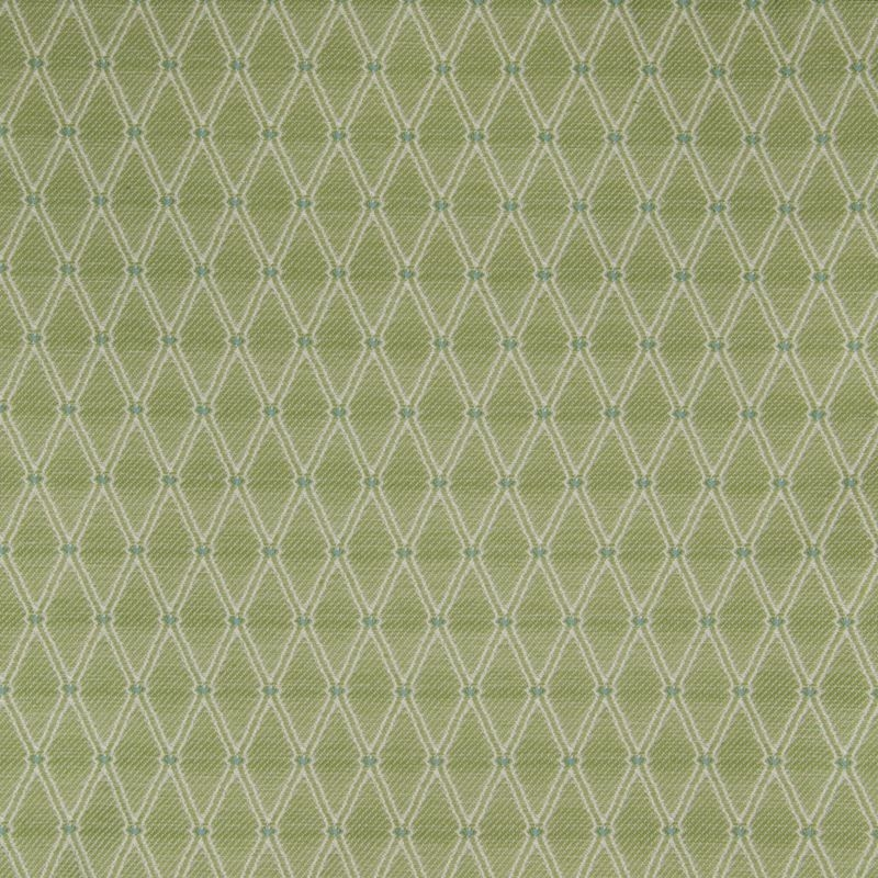 B4122 Prairie, Teal Geometric Upholstery by Greenh