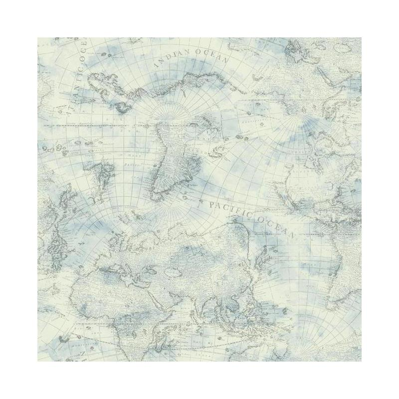 NY4834 Nautical Living by York Wallpaper