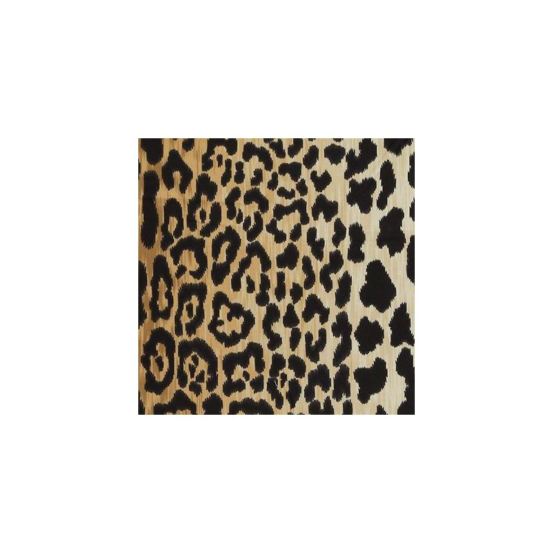 DV61206-600 Black/Camel Duralee Fabric