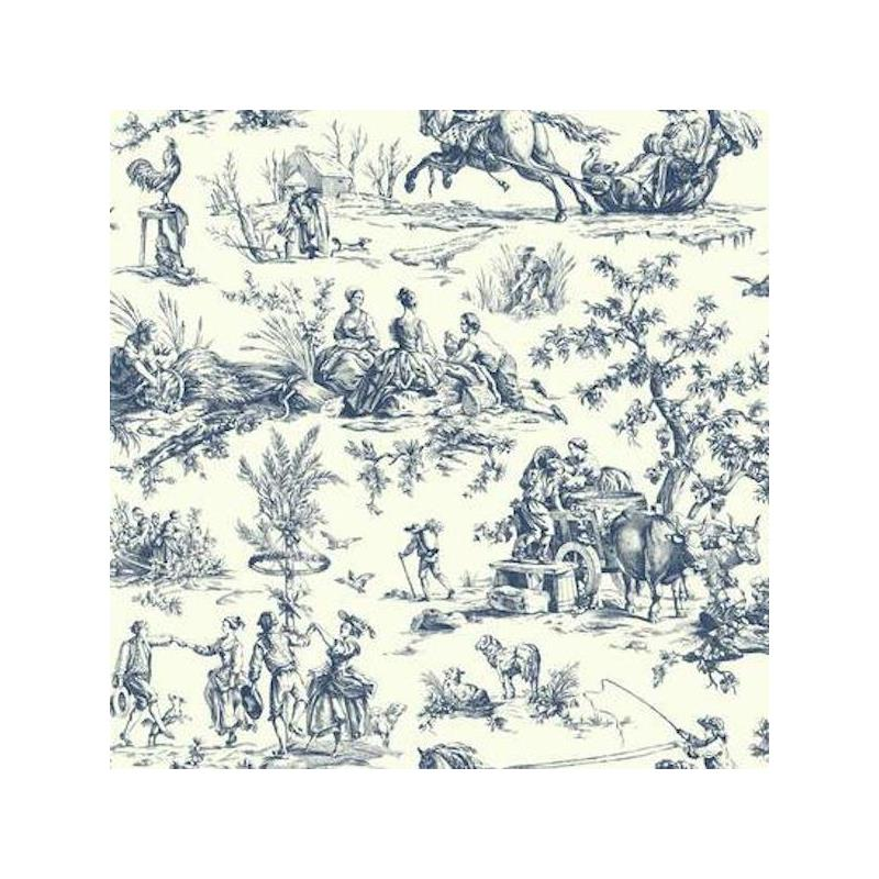 AF2000 Ashford Toiles, Seasons Toile  color navy S