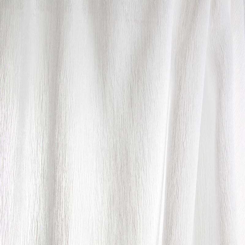 B7953 Snow, White Solid Drapery by Greenhouse Fabr