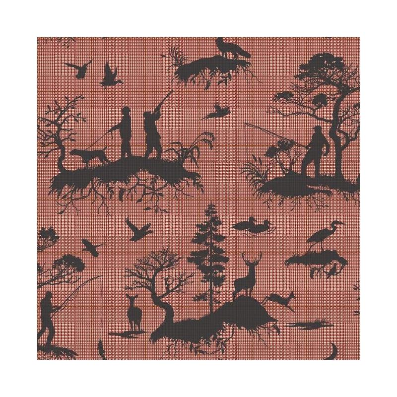 HO3328 Outdoorsmen Toile, Tailored by York Wallpap