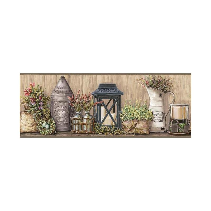 AC4358BD Country Keepsakes by York Wallpaper
