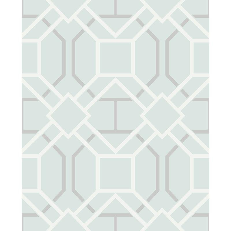 2809-87704 Geo, Dauphin Light Blue Lattice by Adva