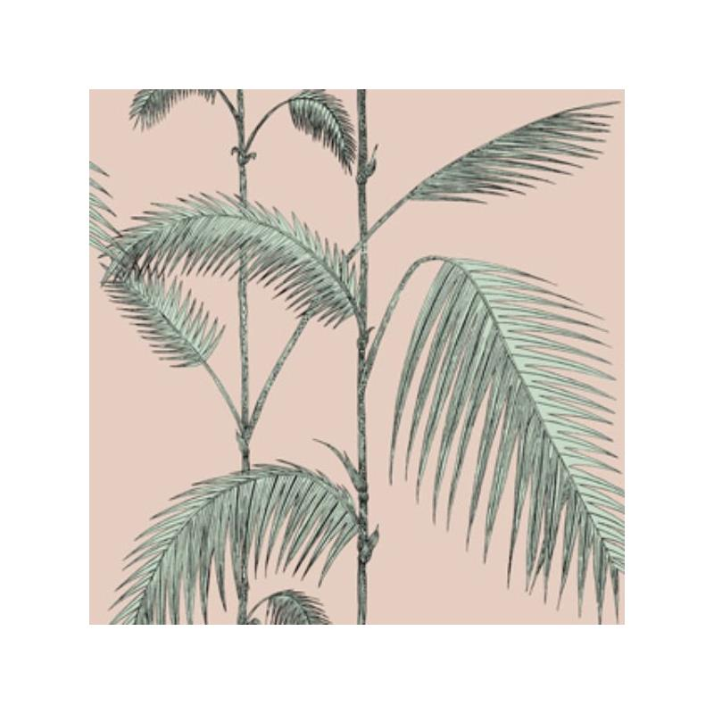 112/2005 Palm Leaves Plaster Pink/Mint by Cole and
