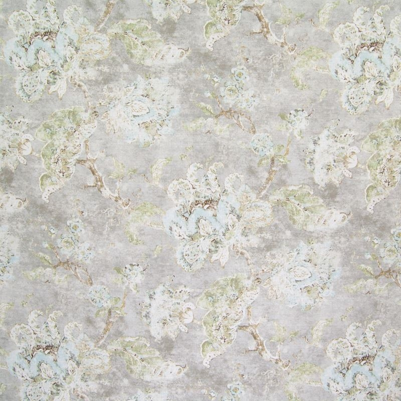 B6583 Stone Harbor, Gray Floral Multipurpose by Gr