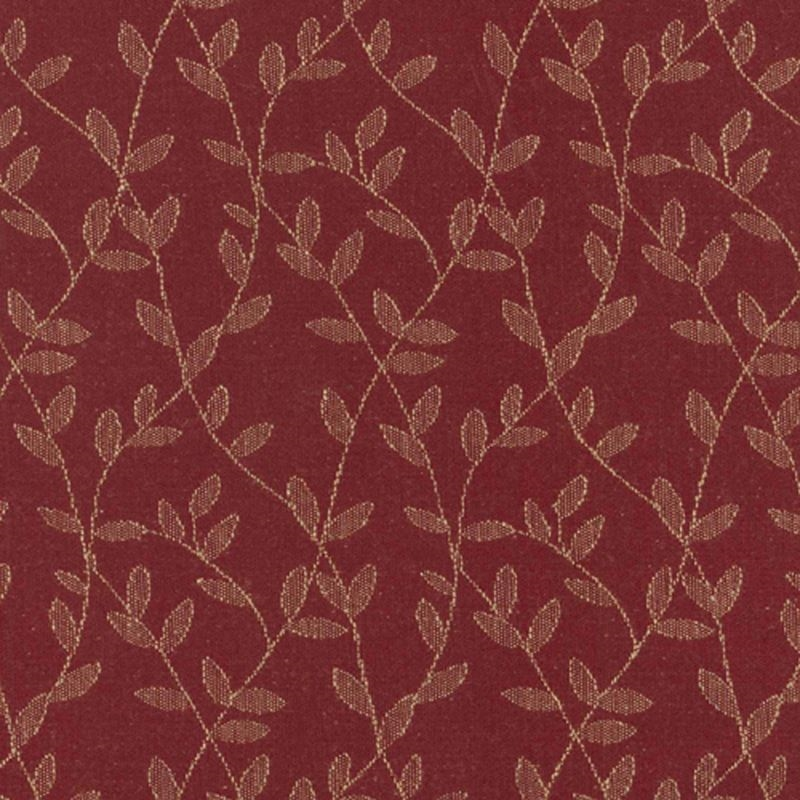 A6510 Merlot, Red Jacquard Fabrics Upholstery by G