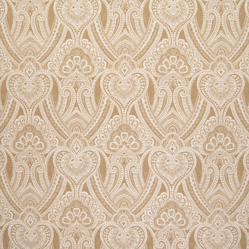 B6430 Harvest, Neutral Scroll by Greenhouse Fabric
