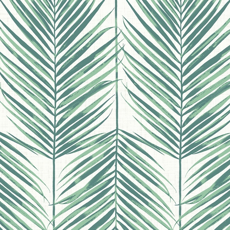 MB30014 Beach House Paradise, Tropic Green Leaves
