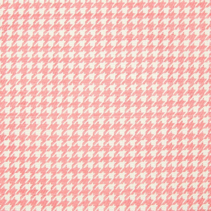 B8232 Coral, Pink Check Houndstooth Multipurpose b