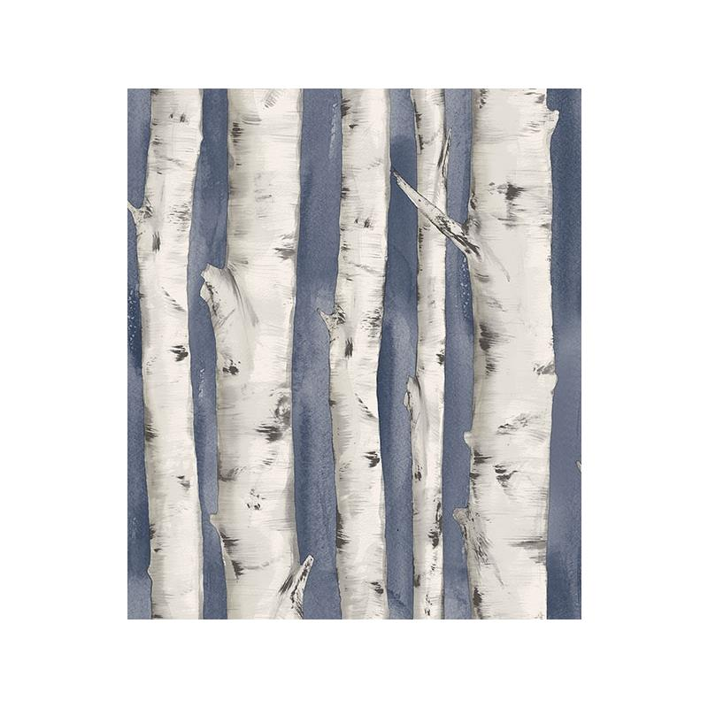 3118-12604 Birch and Sparrow, Pioneer Birch Tree b