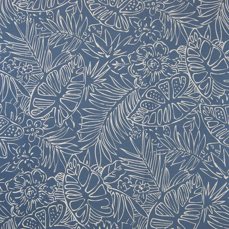 B7619 Reef, Blue Tropical Upholstery by Greenhouse