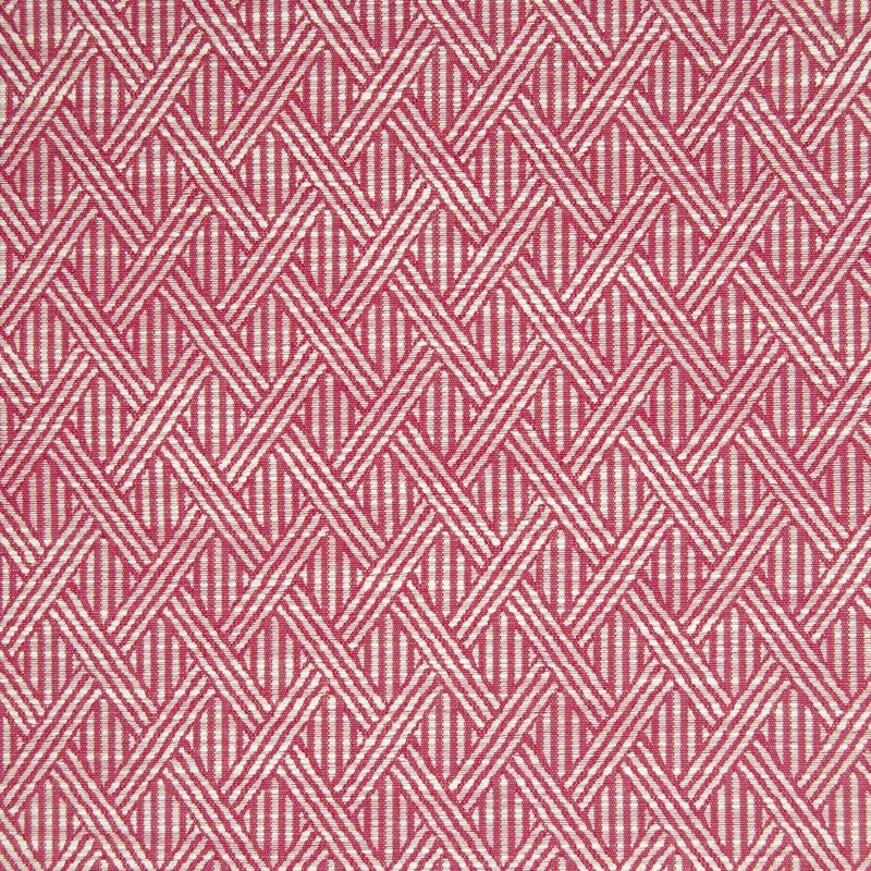 B7036 Cranberry, Red Geometric Multipurpose by Gre
