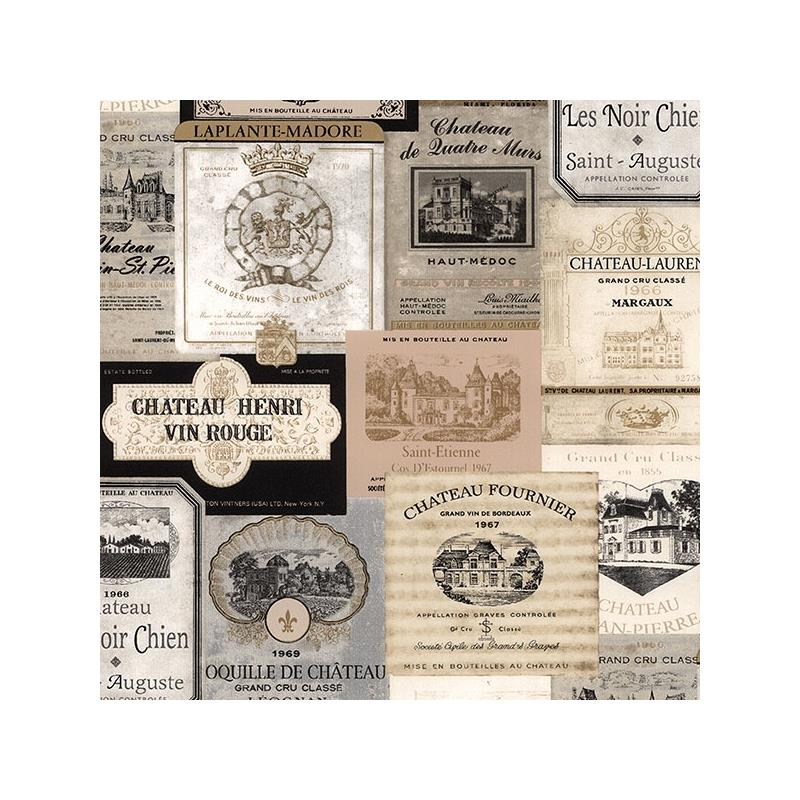 KK26753 Creative Kitchens Wine Labels  Norwall Wal