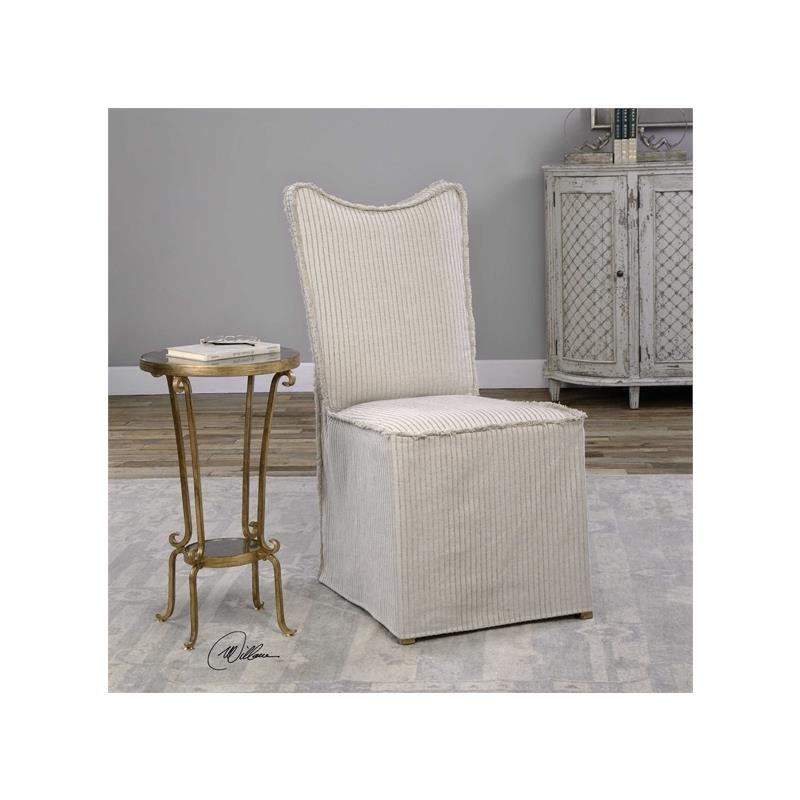 23309 Lenore Armless Chair Oatmeal 2 Pe by Uttermo