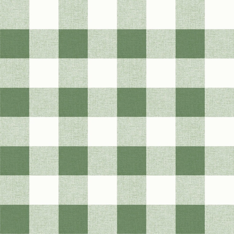MB31904 Beach House Picnic Plaid, Greenery Plaid b