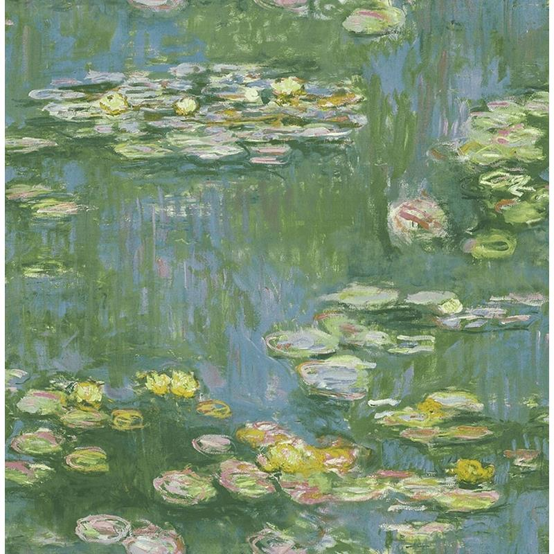 FI71502 French Impressionist Lily Pads Seabrook De