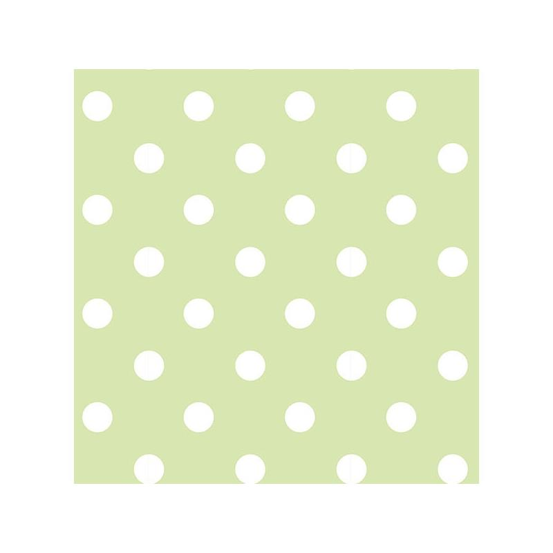 NU1429 Green Dottie Peel And Stick Wallpaper Peel