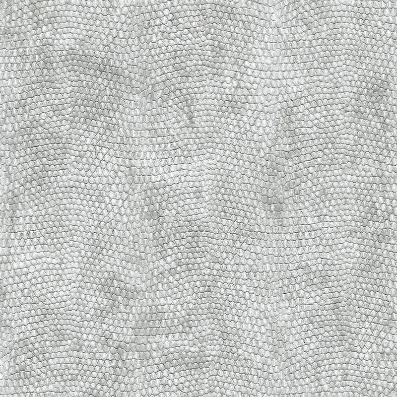 8073 Vinyl Snakeskin, Upscaled Grey Grasscloth by