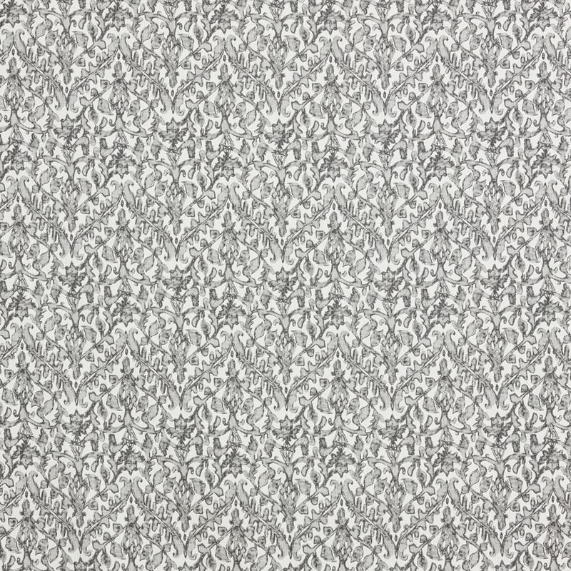 F1283 Stone, Gray Floral Multipurpose Fabric by Gr