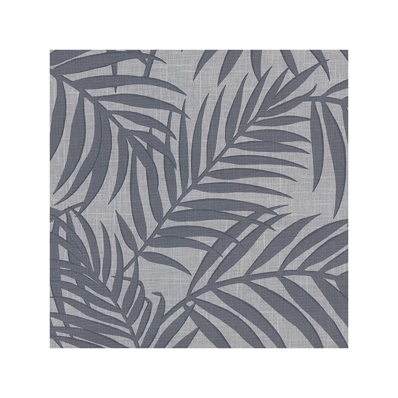 2945-1131 Warner Textures X Lanai Pewter Fronds by