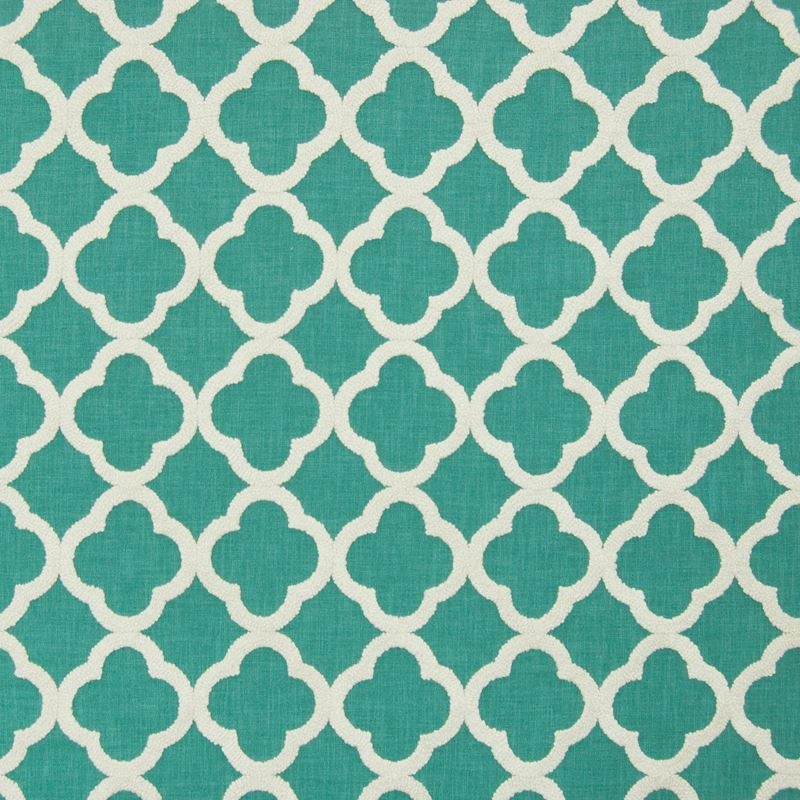 B7159 Turquoise, Teal Geometric Multipurpose by Gr