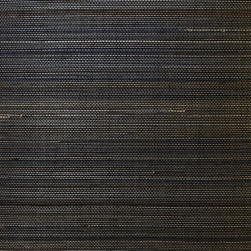 LN11857 Luxe Retreat, Abaca Grasscloth Black by Li