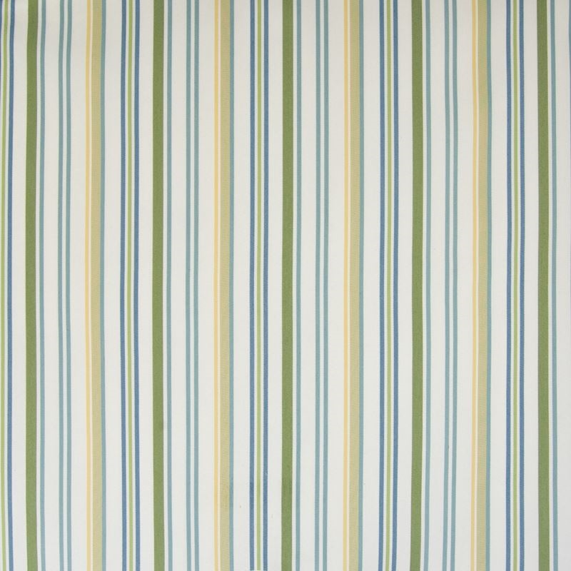 B4143 Grass, Green Stripe Upholstery by Greenhouse