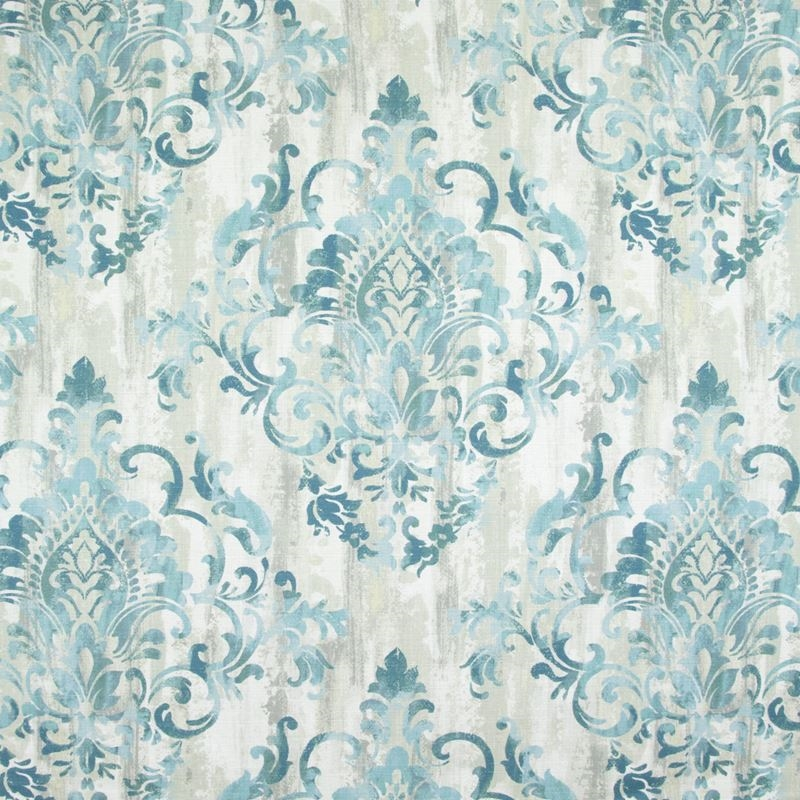 B9283 Teal, Blue Scroll Multipurpose by Greenhouse