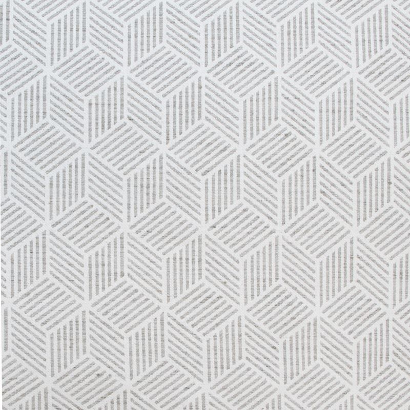 B9224 Silver, Gray Geometric Multipurpose by Green